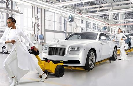 Rolls Royce Unveil Wraith - Inspired by Fashion