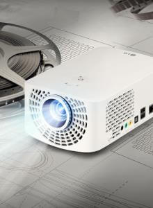LG NEW PORTABLE PROJECTORS