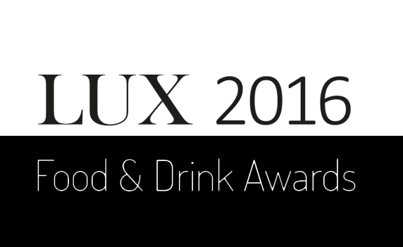 LUX Food and Drink Awards 2016