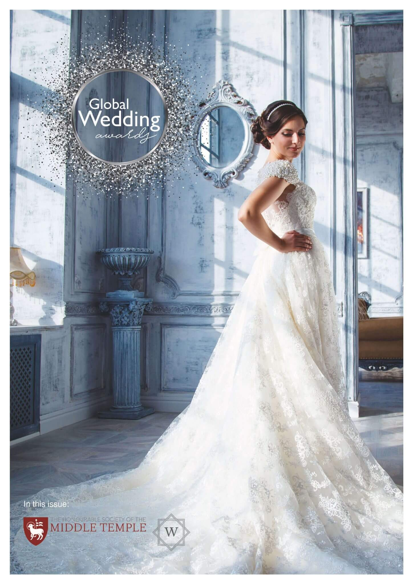 Global Wedding Awards Lux Magazine Sadiya Peach Dress Leux Studio Winners Booklet