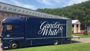 Gander and white