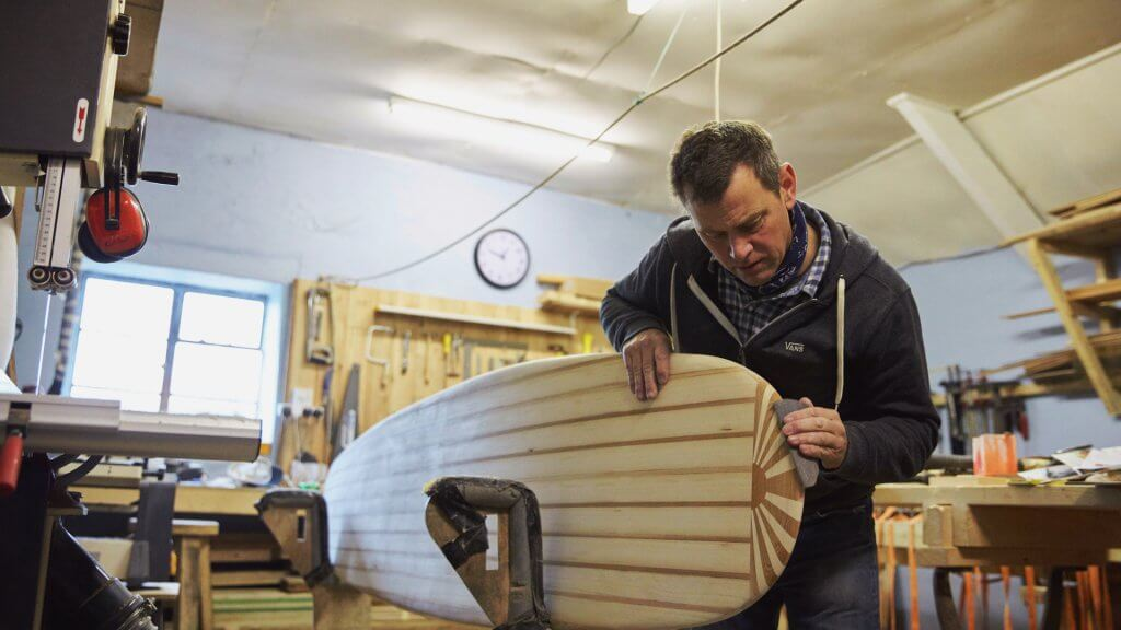 Chris Clark, Daily Bread Surfboards