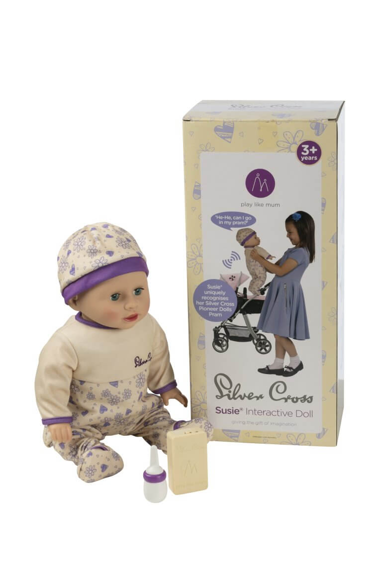 Silver Cross Susie Interactive Doll from Play Like Mum