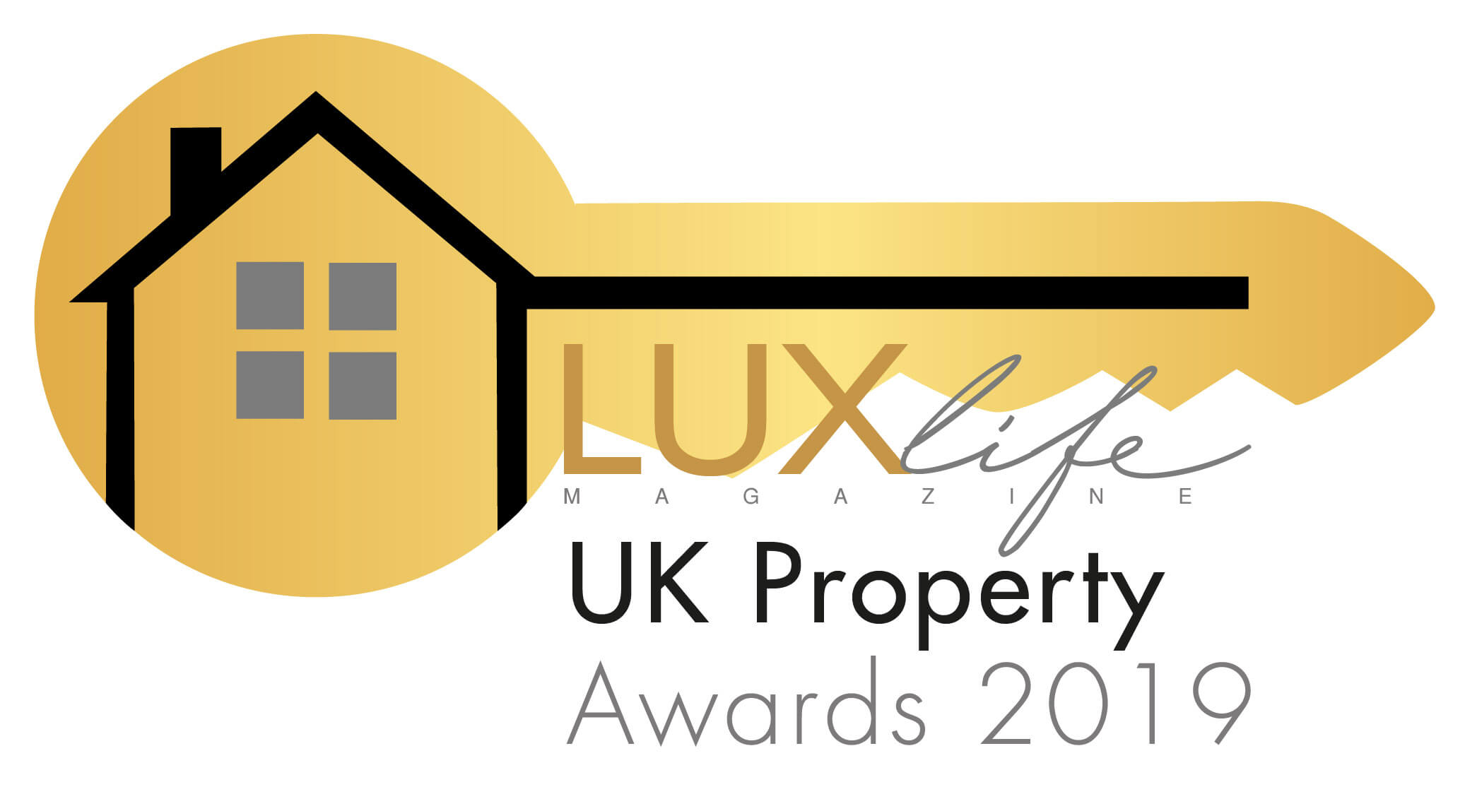 LUXlife UK Property Awards 2019 logo