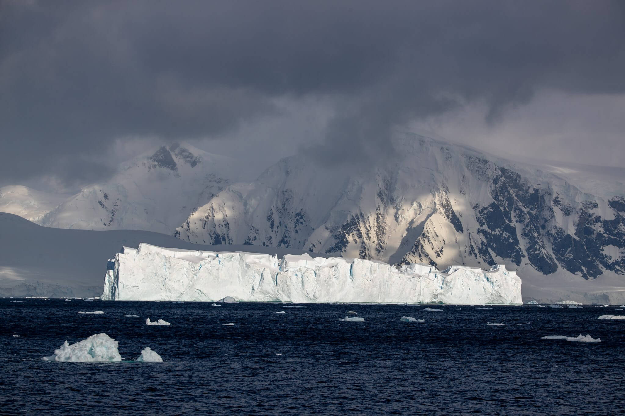A city of icebergs in Antarctica - Cookson Adventures