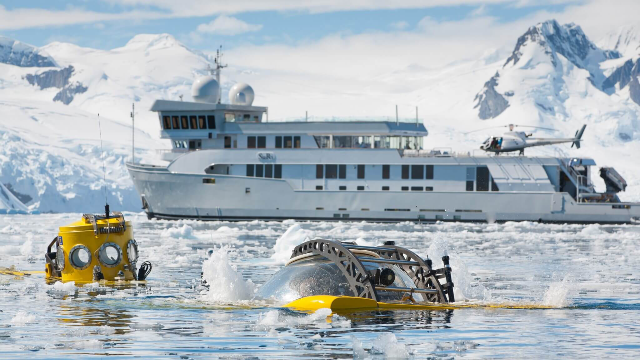 Antarctica - submerging into the unknown