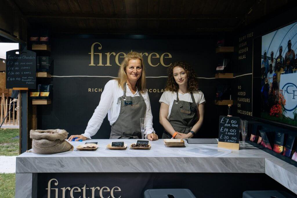 Firetree_Taste of London_Firetree Chocolate Stand AV5