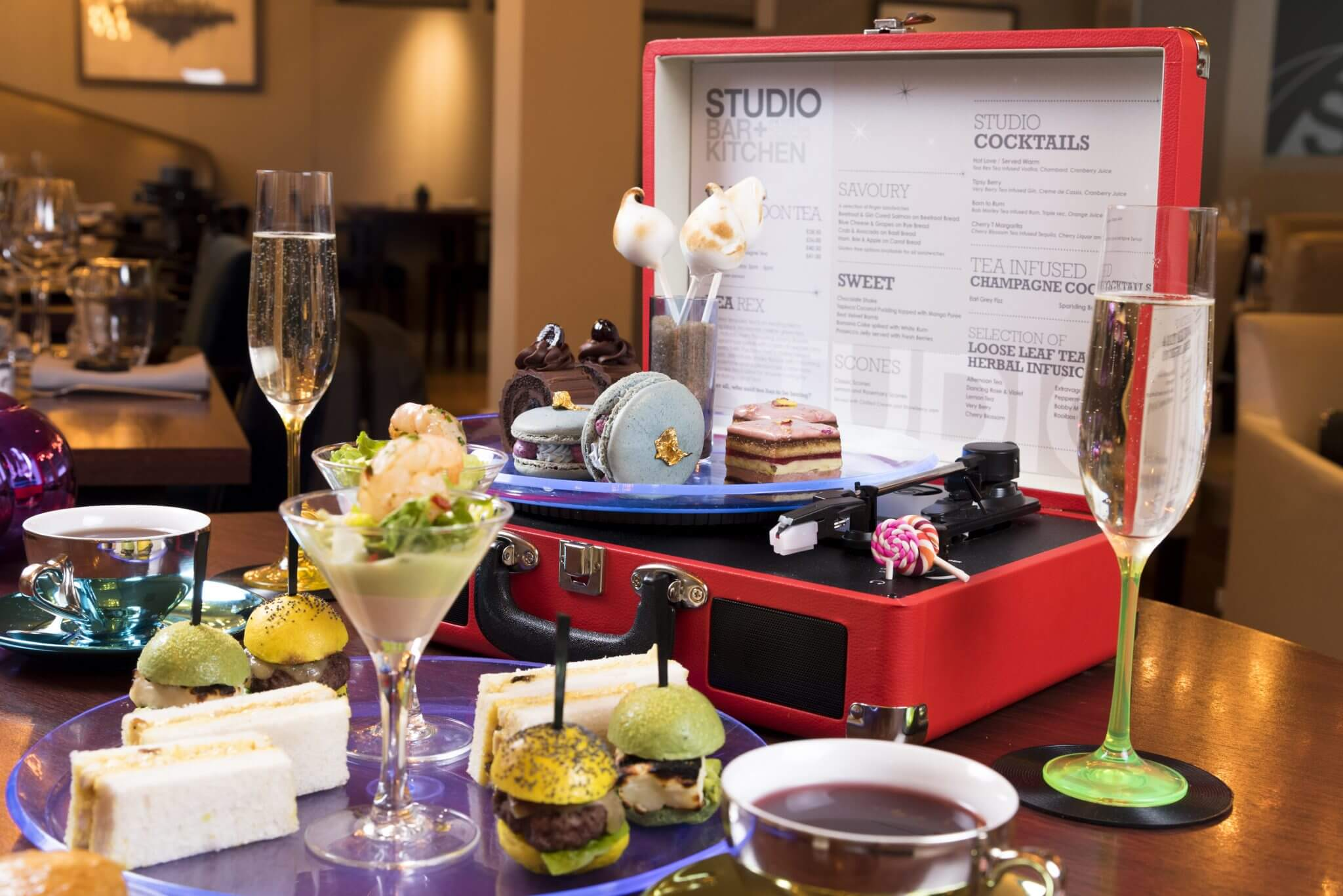 Retro Afternoon Tea at K West 6