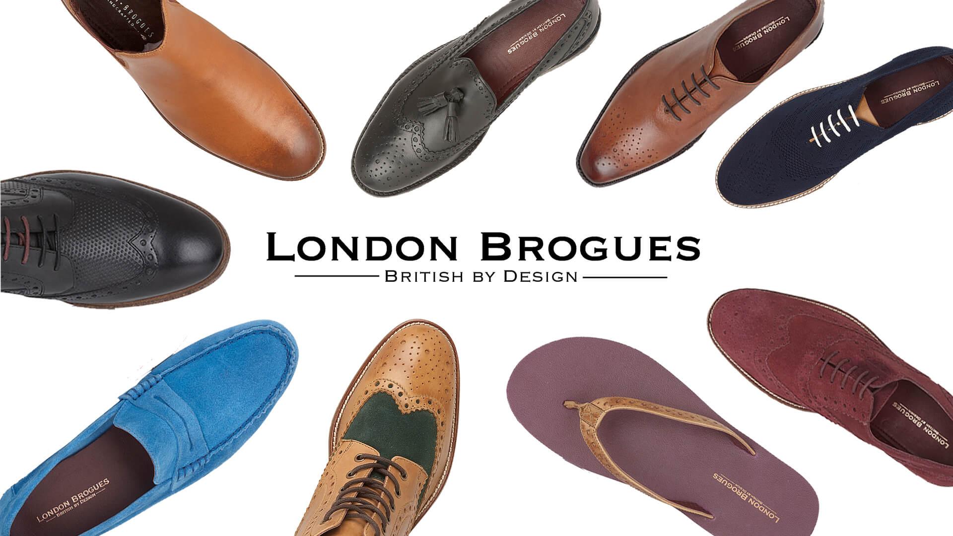 کفش های اعلامیه و SUEDE DOMINATE LONDON BROGUES مجموعه تابستانی
