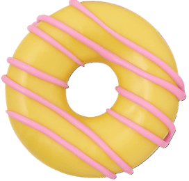 Party ring yellow
