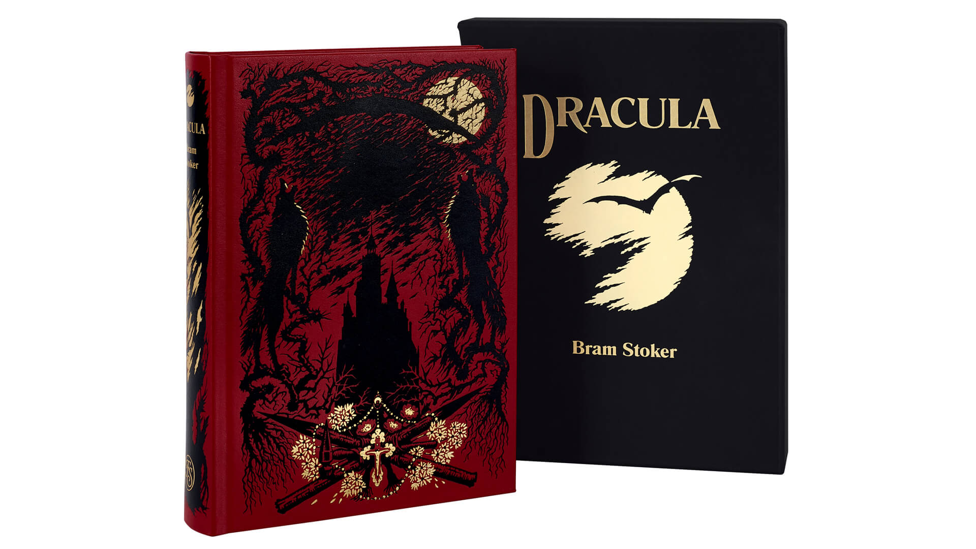 Dracula book front cover