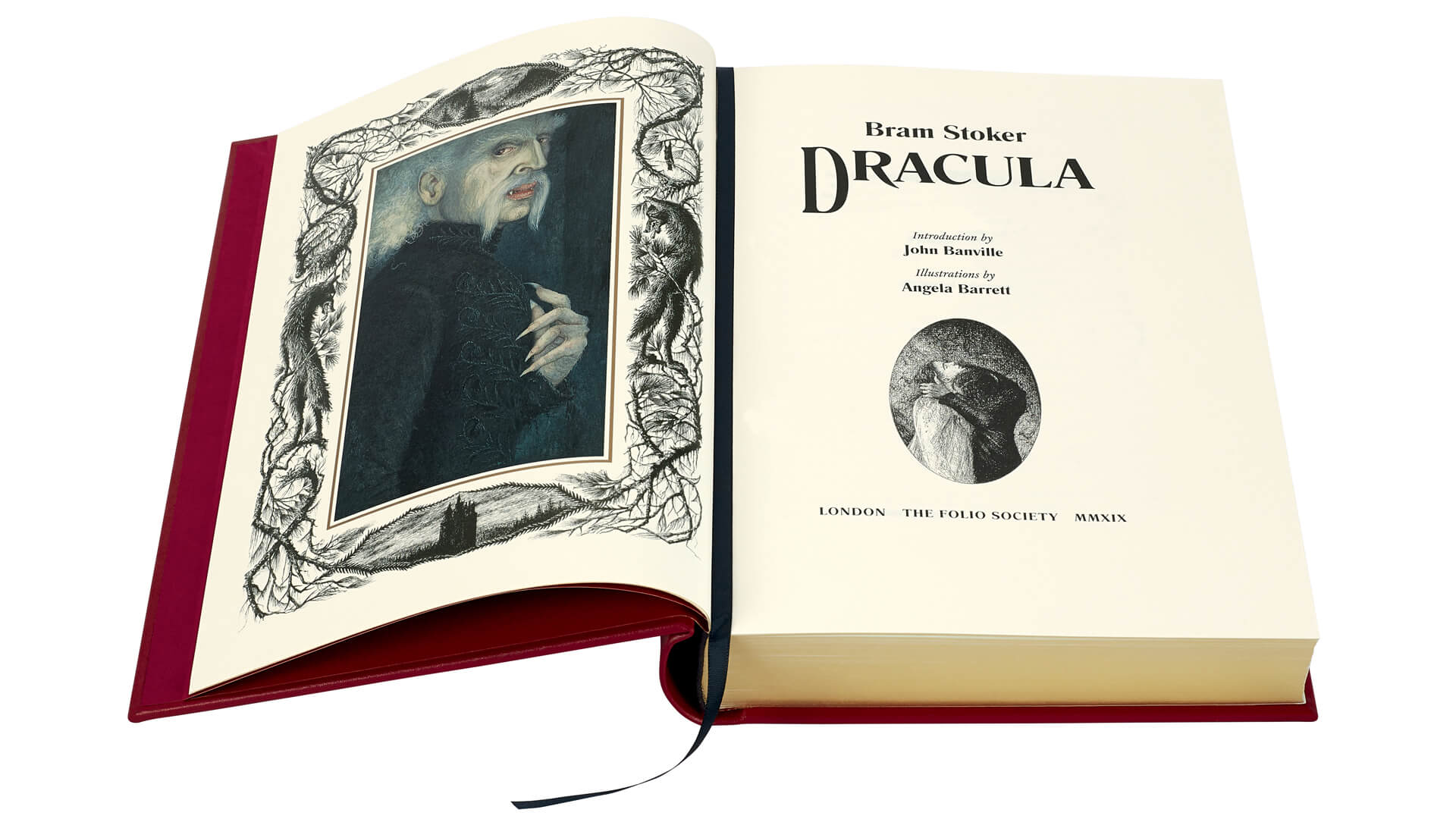 Dracula book inside