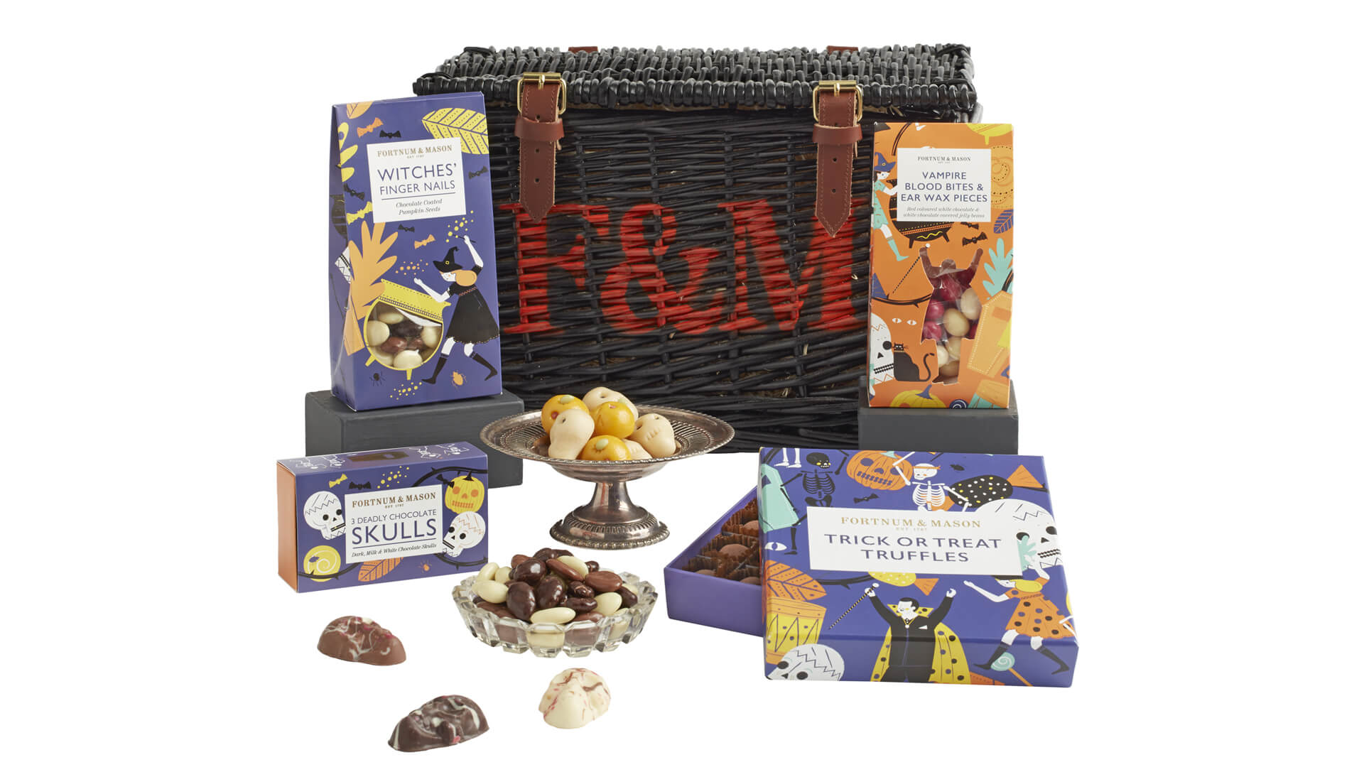 Fortnum & Mason The Wicked Wicker Halloween Hamper