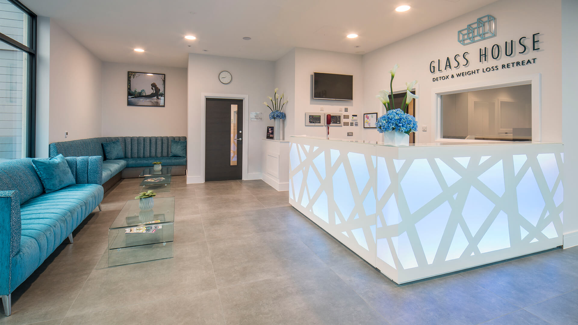 Glass House Retreat is the UK's first purpose-built spa, detox and weight loss retreat set in the heart of the Essex countryside.