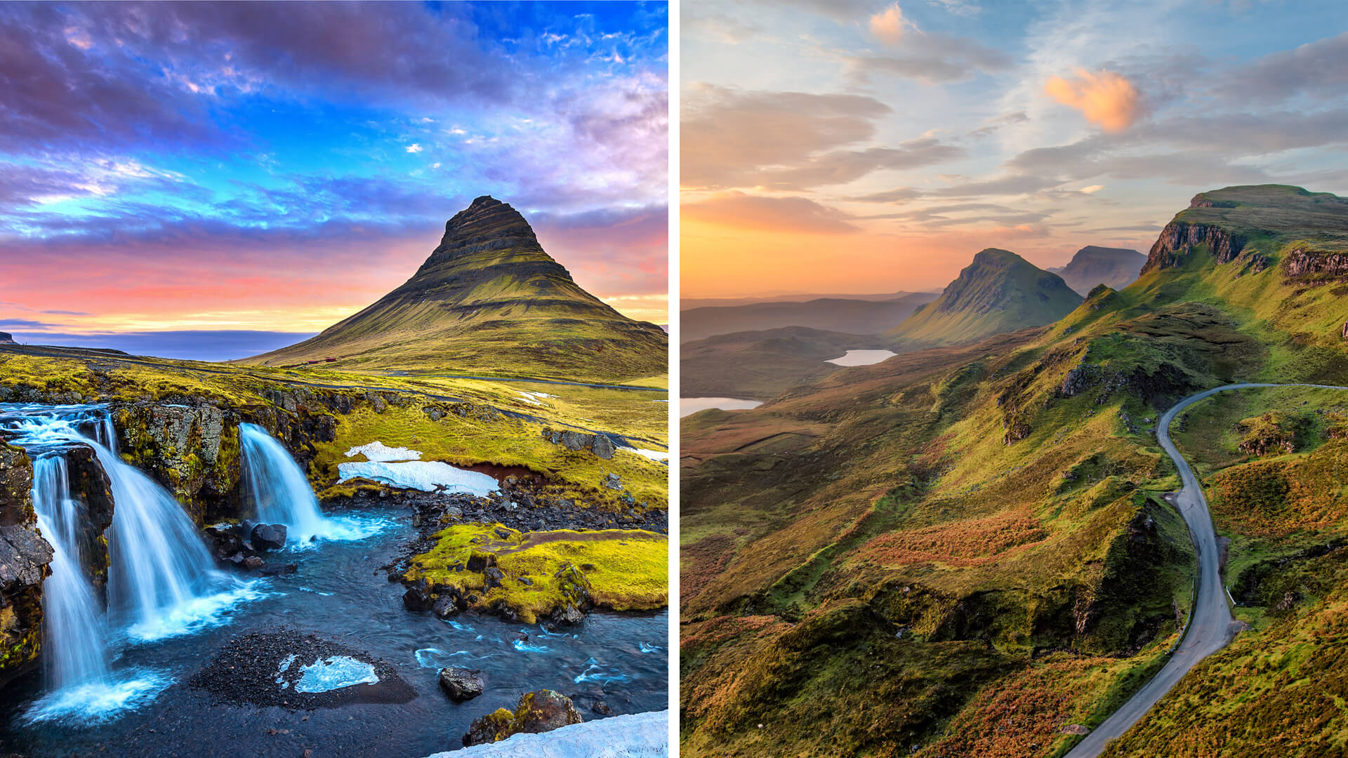 Icelandic Ring Road vs. Scottish Highlands and Isle of Skye