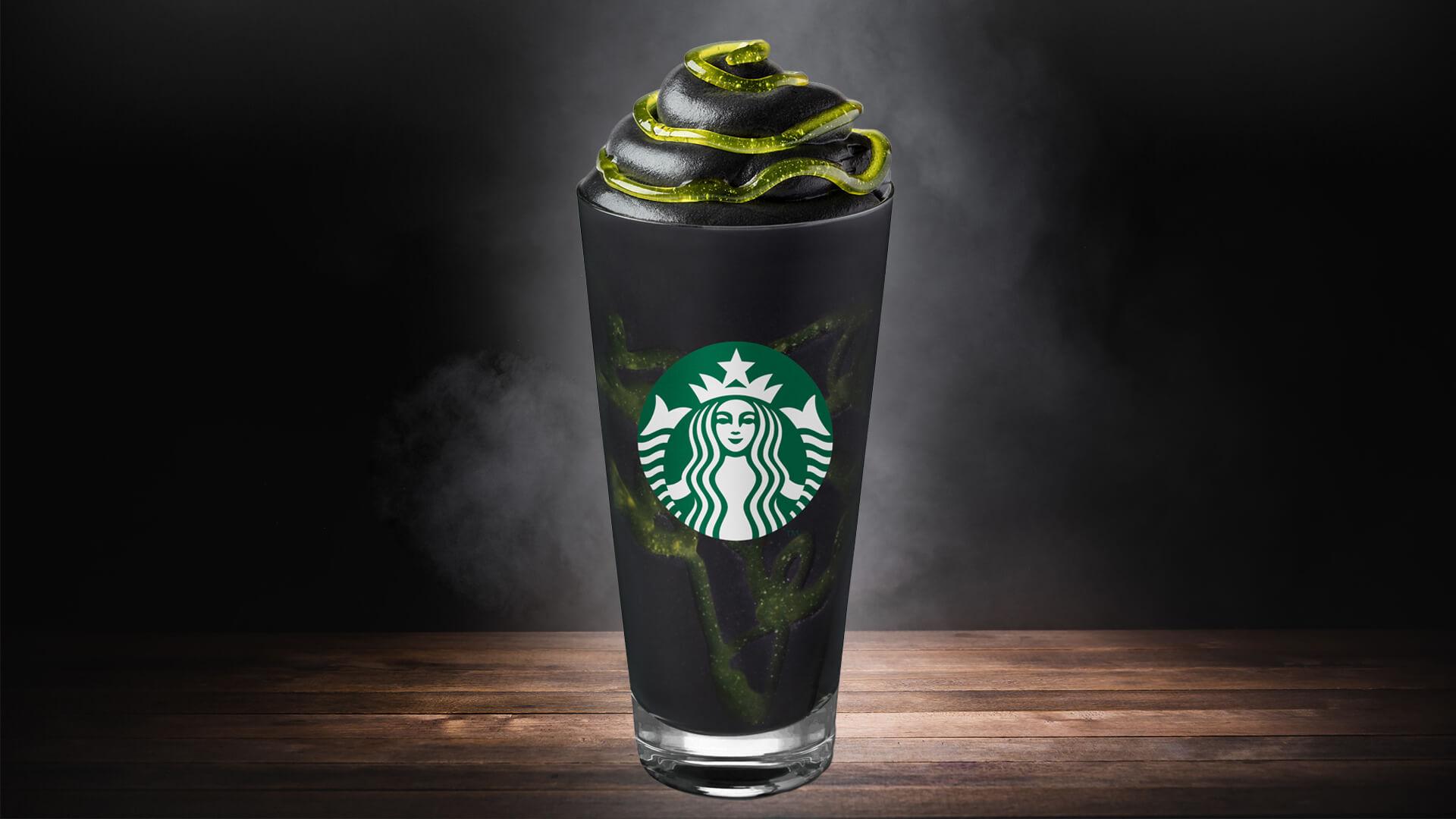 Who You Gonna Call The New Starbucks Phantom Frappuccino
