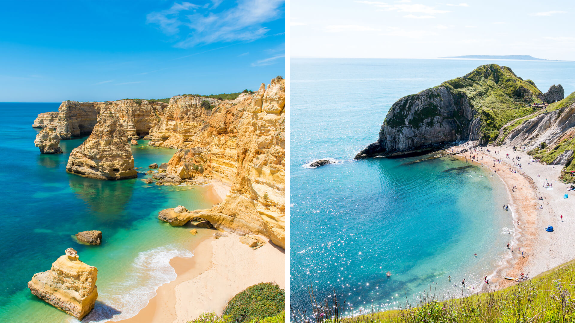 Portugal's Atlantic Coast vs. South England's Jurassic Coast
