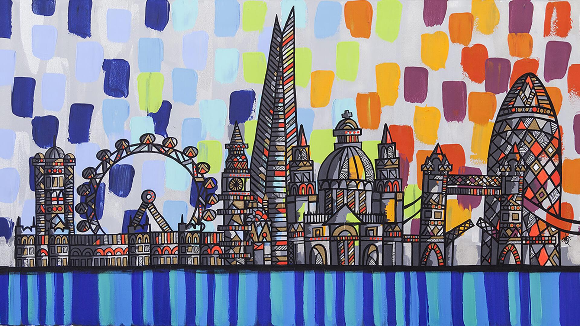 London skyline piece
