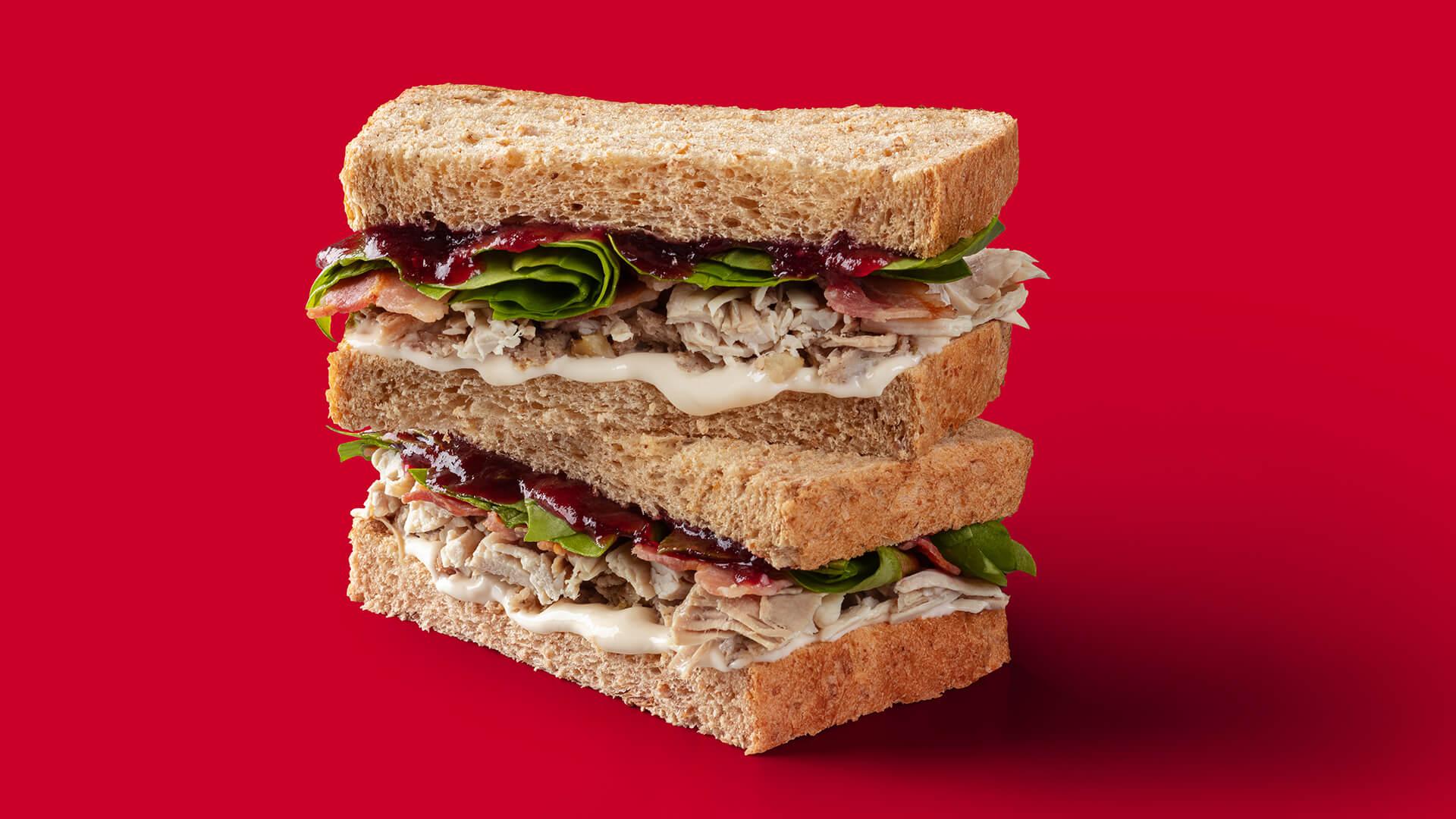 'Tis the Season Turkey Sandwich