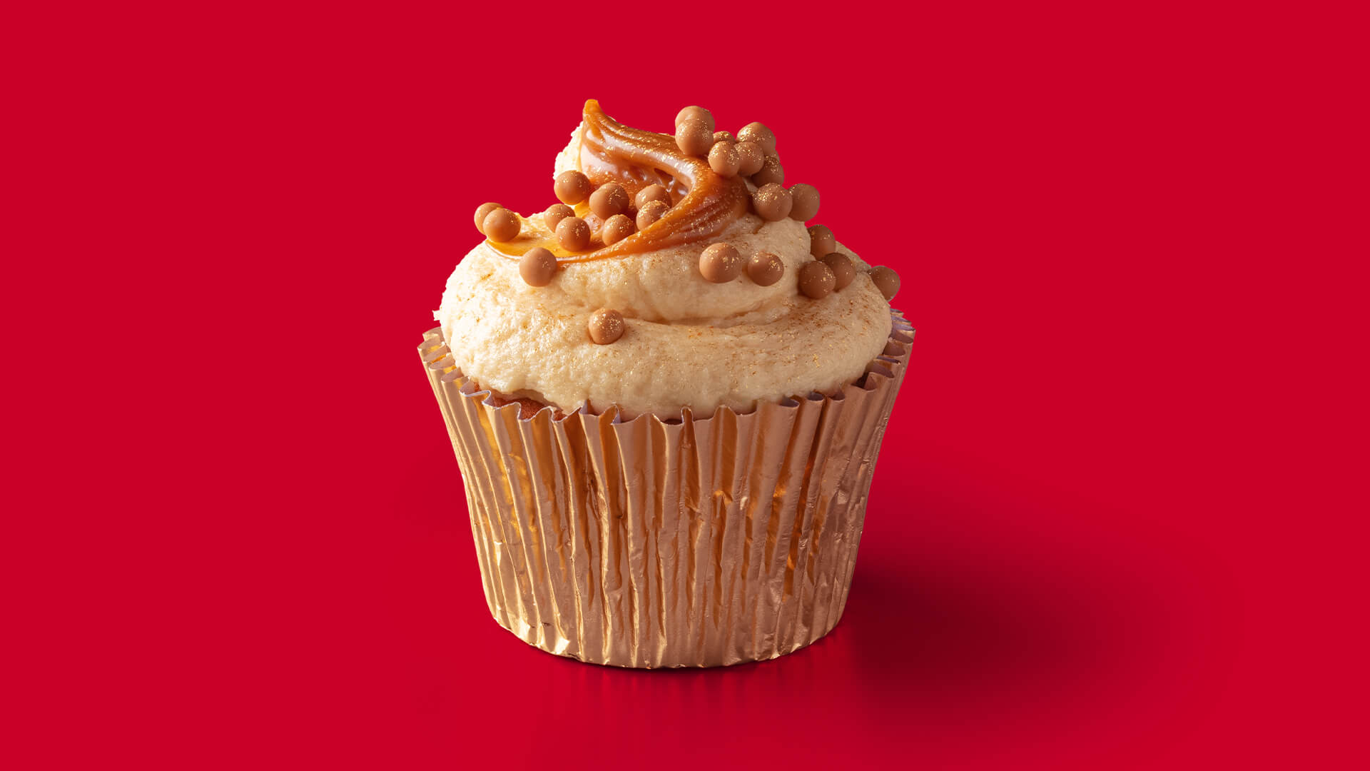 Twinkle and Sprinkle Caramel Cupcake