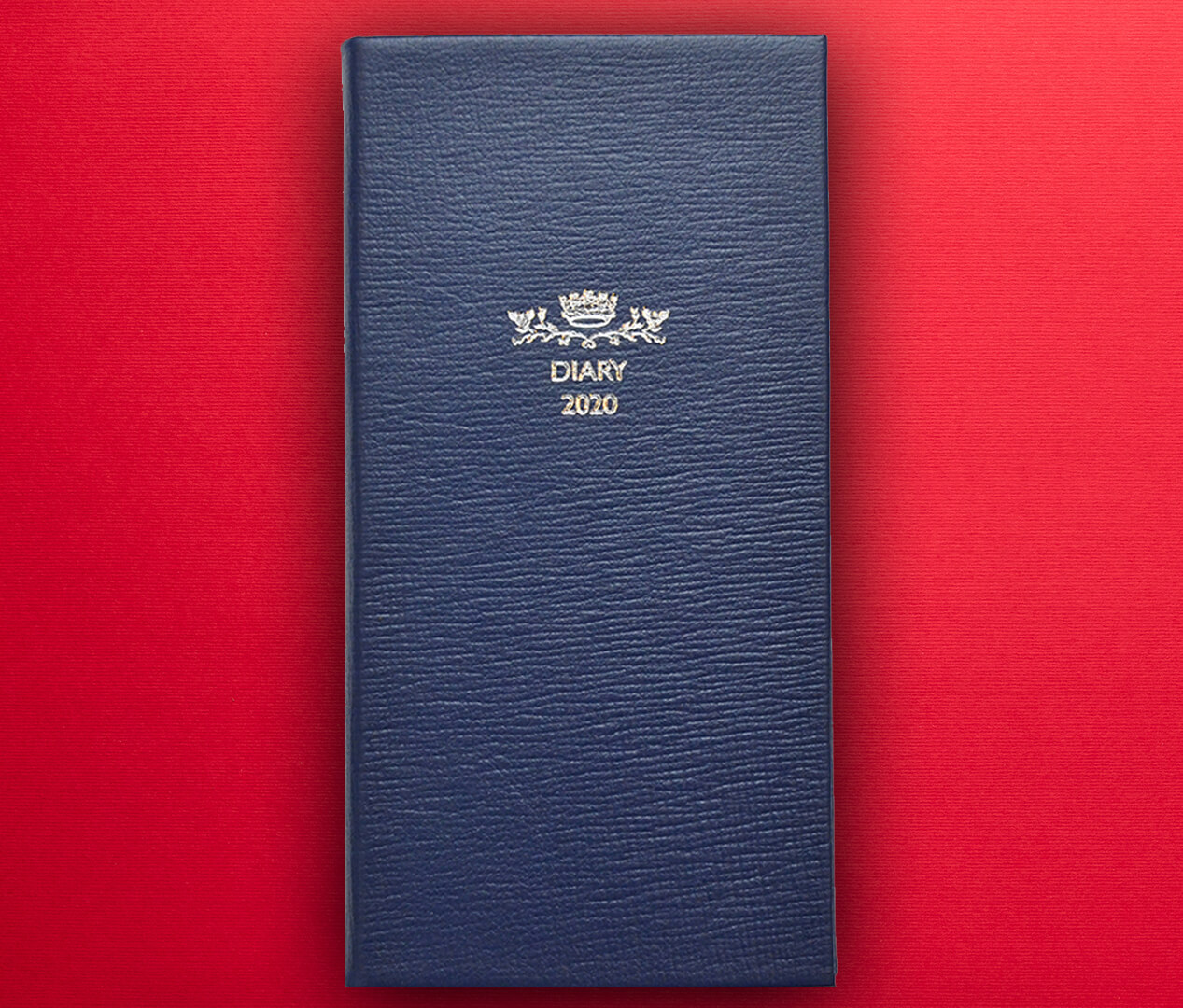 Debrett's slimline leatherbound diaries