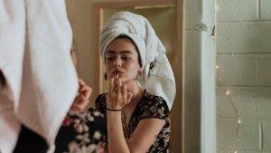 prepping skin