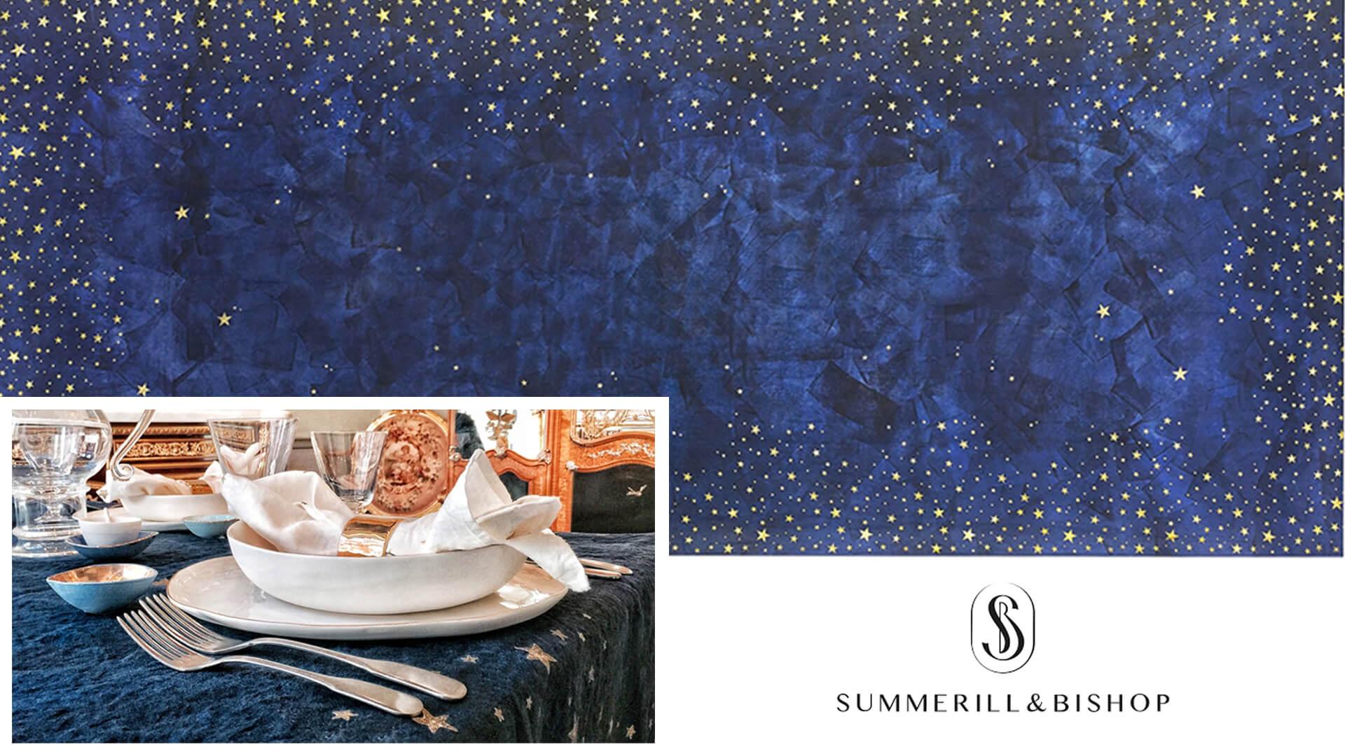 ummerhill and Bishop tablecloth