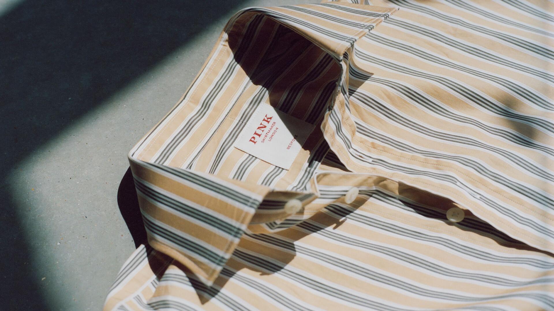 PINK bespoke shirt