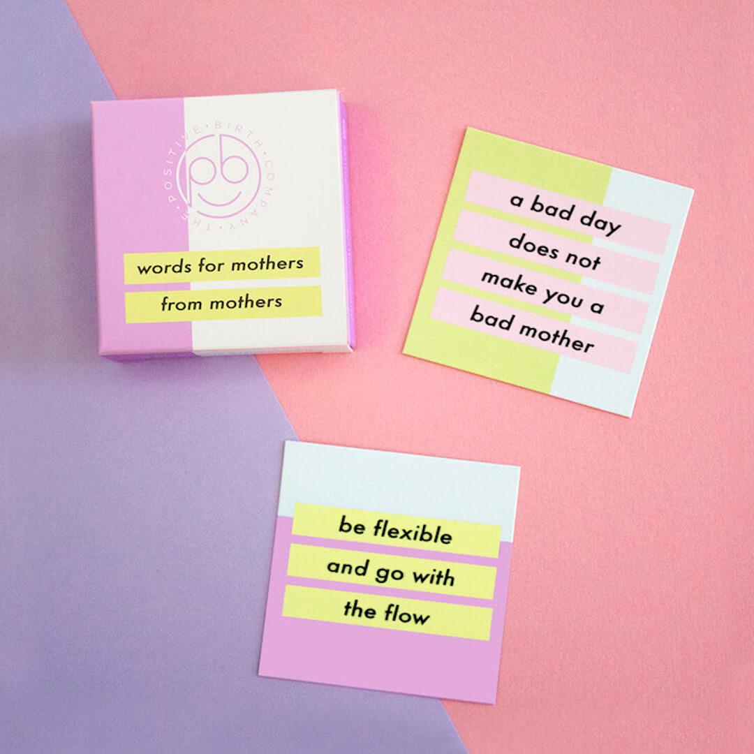 motivational affirmation cards