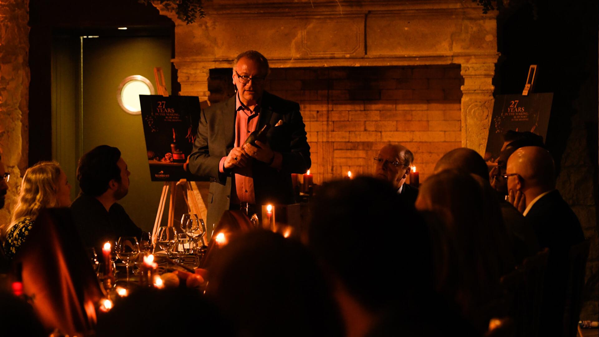 Master Blender Billy Leighton