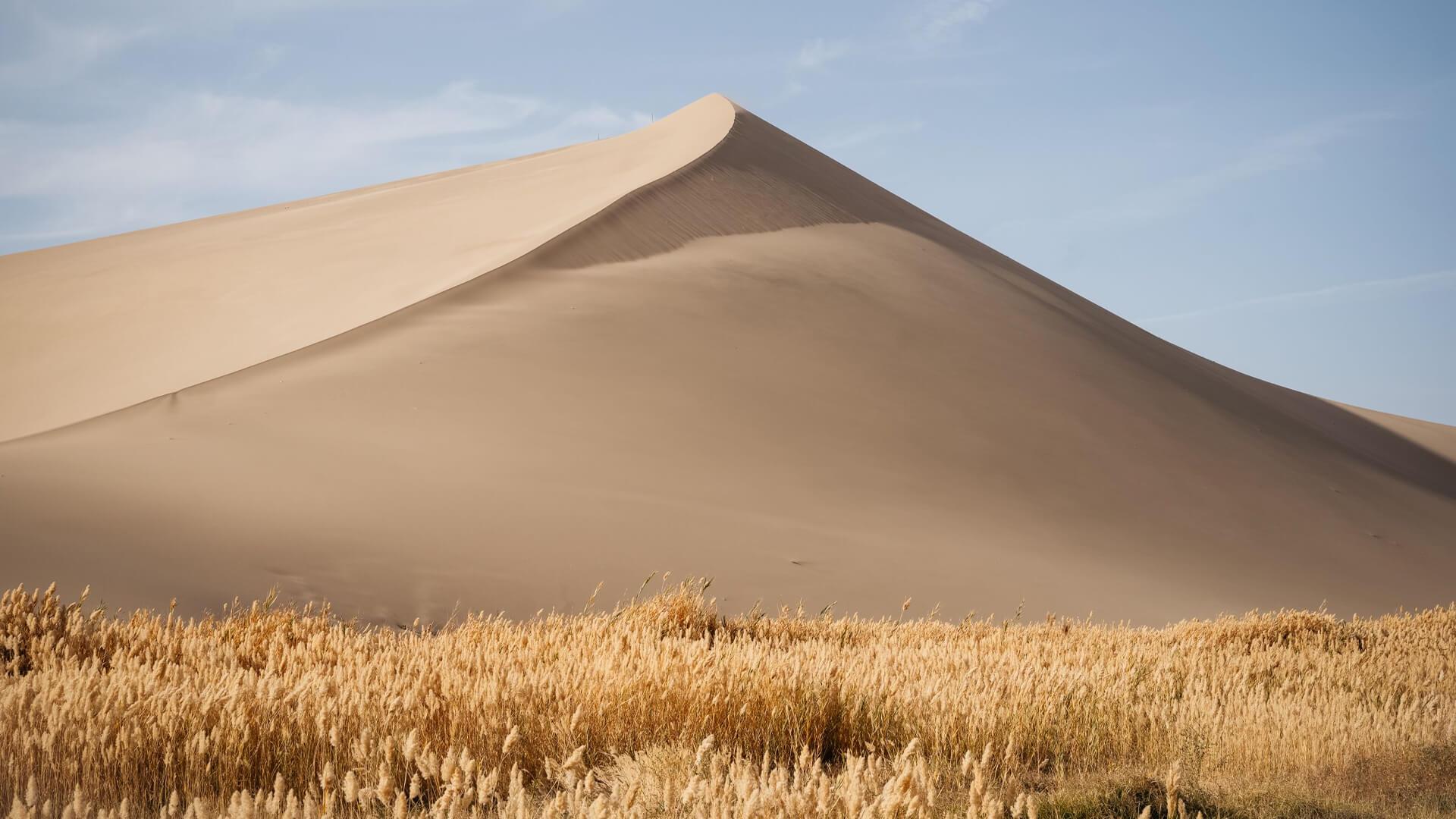 The Gobi Desert at Dunhuang, Central China