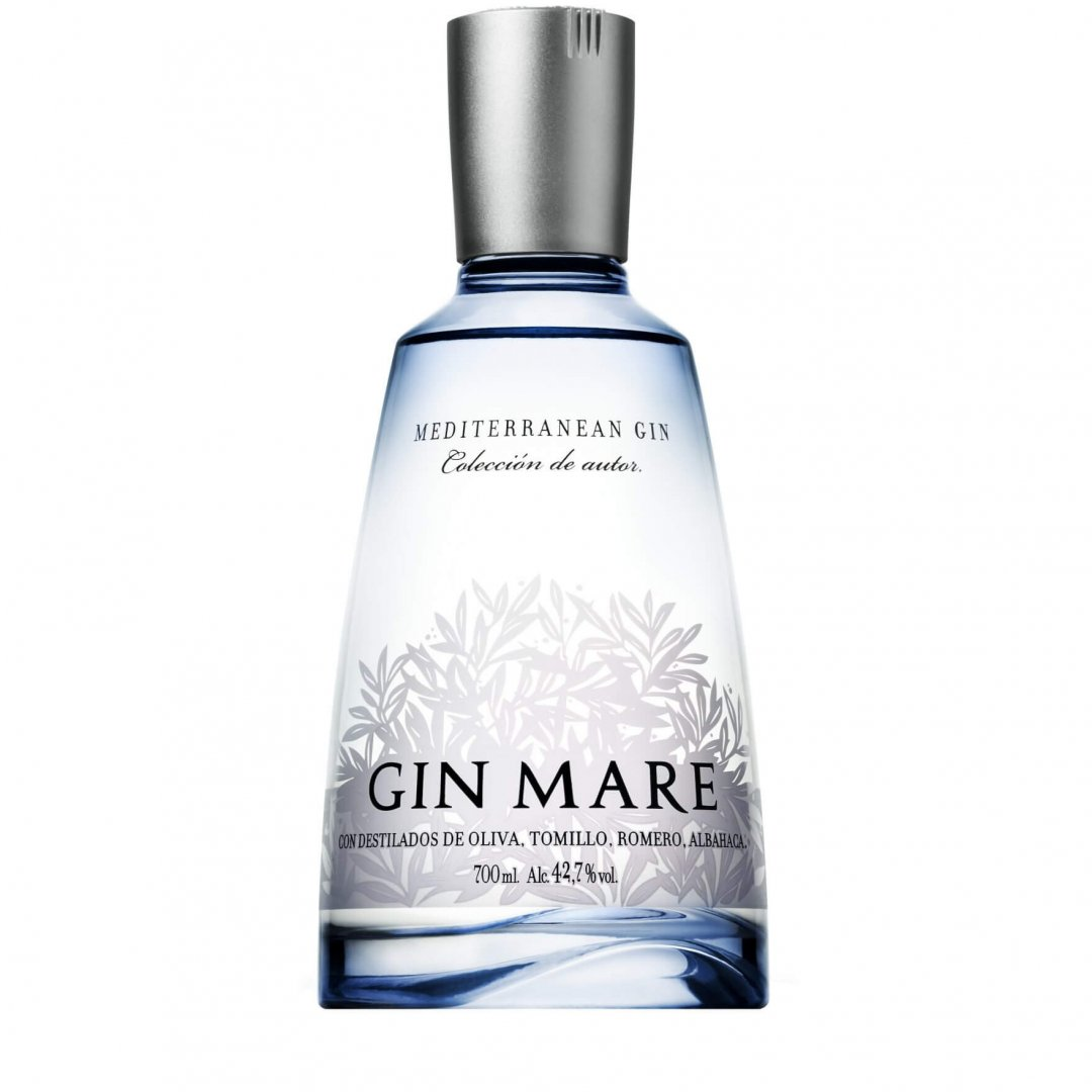 Gin Mare - Bottle Shot - No background